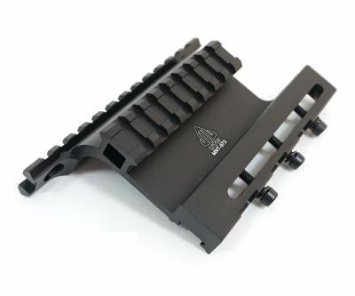 Кронштейн боковой Leapers UTG с 2 планками Weaver на АК (MNT-973)