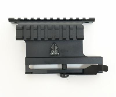 Кронштейн боковой Leapers UTG быстросъемный с 2 планками Weaver на АК (MNT-978)