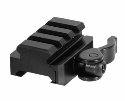 Кронштейн Leapers UTG Weaver на Weaver, 3 слота, 40 мм, 2 упора (MNT-RSQD403)