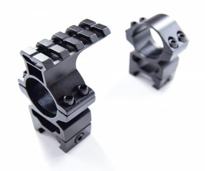 Кольца 25,4 мм на Weaver, 1 кольцо с Weaver наверху (P24-0134)