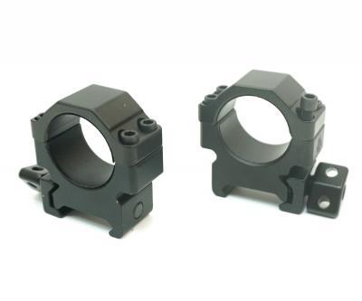 Кольца Leapers UTG 25,4 мм быстросъемные на Weaver, с винтовым зажимом, низкие (RG2W1104)