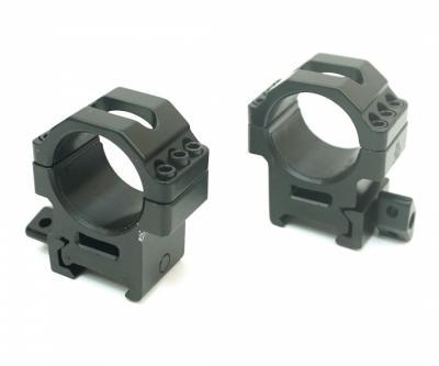 Кольца Leapers UTG 30 мм быстросъемные на Weaver, с винтовым зажимом, средние, 3 винта (RG2W3156)