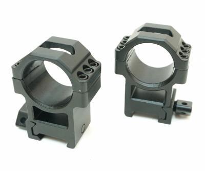 Кольца Leapers UTG 30 мм быстросъемные на Weaver, с винтовым зажимом, высокие, 3 винта (RG2W3226)