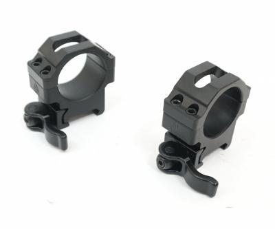 Кольца Leapers UTG 30 мм быстросъемные на Weaver, с рычажным зажимом, низкие (RQ2W3104)