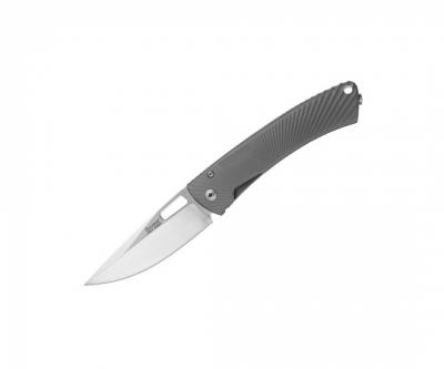 Нож складной LionSteel TiSpine Gray Matte TS1 GM