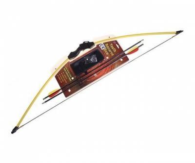 Детский рекурсивный лук Man Kung MK-RB008, 7 кг, 112 см (желтый)