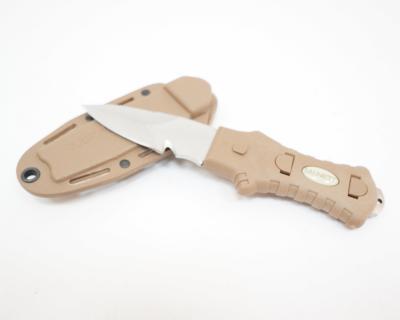 Нож McNETT Tactical, сталь 420, клинок 76,2 мм, Coyote