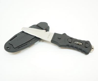 Нож McNETT Tactical, сталь 420, клинок 76,2 мм, скошенный, Black