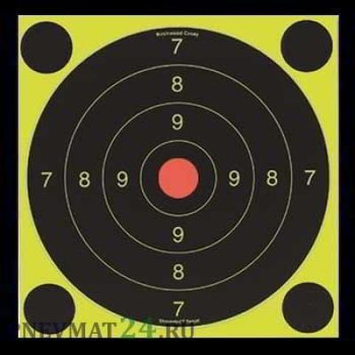 Мишень Scoot N C Self-Adhesive Targets 200 мм, 6 шт + 24 наклейки
