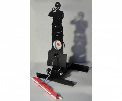Мишень фигурная подъёмная «Солдат» Ф10, металл 3 мм