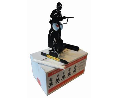 Мишень фигурная подъёмная «Солдат» Ф2, металл 3 мм