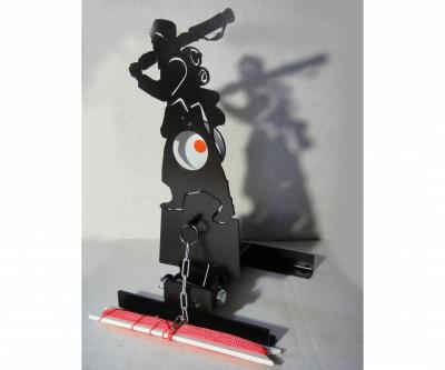 Мишень фигурная подъёмная «Солдат» Ф7, металл 3 мм