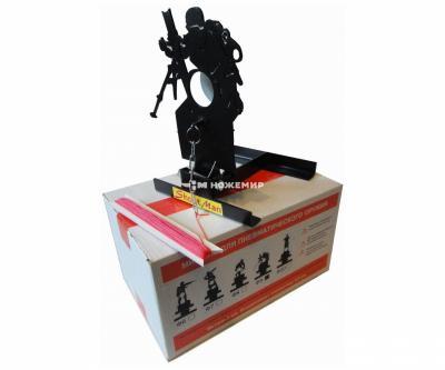 Мишень фигурная подъёмная «Солдат» Ф9, металл 3 мм