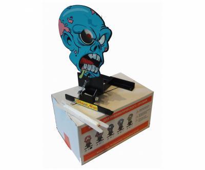 Мишень фигурная подъёмная «Зомби» Z4, металл 3 мм