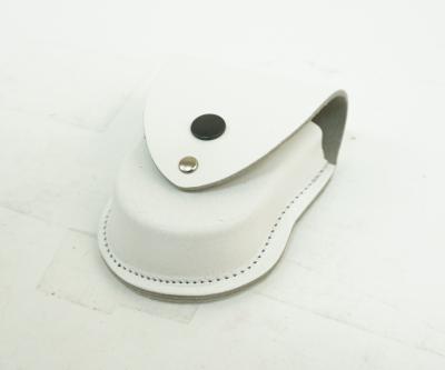 Чехол для наручников «БРС» формованный (кожа, белый)