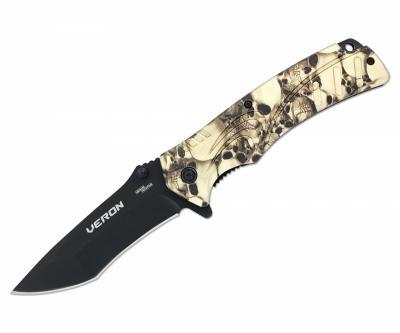 Нож полуавтоматический «Чёткий расклад» Veron A-167
