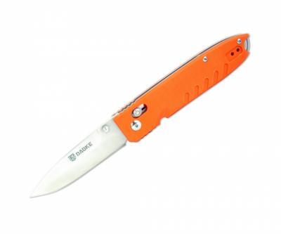 Нож складной DAOKE, с оранжевой рукоятью (D611o)