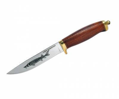Нож нескладной разделочный H-217S «Ножемир»