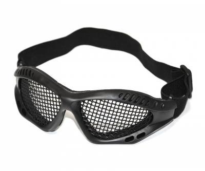 Очки защитные сетчатые Cyma HY-042, черные