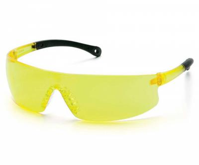 Очки стрелковые Pyramex Provoq S7230S, желтые линзы