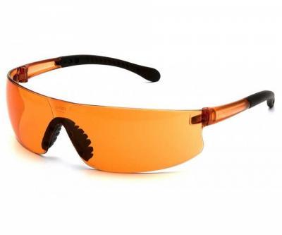 Очки стрелковые Pyramex Provoq S7240S, оранжевые линзы