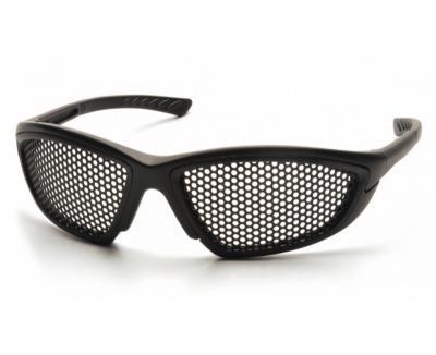 Очки-сетка тактические Pyramex Trifecta SB76WMD черные