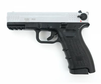 Охолощенный СХП пистолет K17-СО Kurs (Glock 17) 10ТК, матовый хром