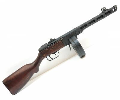 Охолощенный СХП пистолет-пулемет Шпагина ППШХ (ЗиД), 10x31