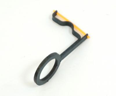 Оптоволоконная мушка Truglo для МР-512 оранжевая 1,0 мм (металл)