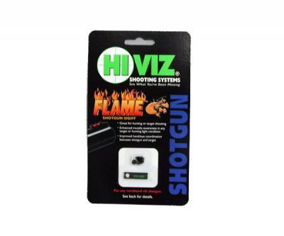Оптоволоконная мушка HiViz Flame Sight зеленая универсальная