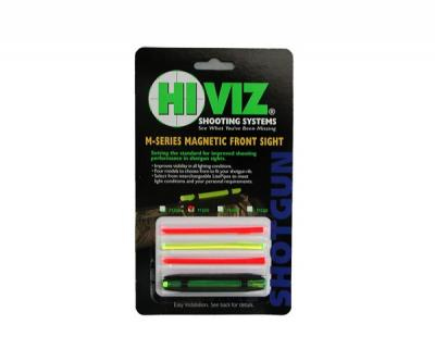 Оптоволоконная мушка HiViz Magnetic Sight M-Series M400 широкая 8,2-11,3 мм