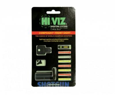 Оптоволоконная мушка HiViz Competition Front Sight универсальная, PM1002