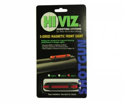 Оптоволоконная мушка HiViz S300-R красная 5,5 мм - 8,3 мм