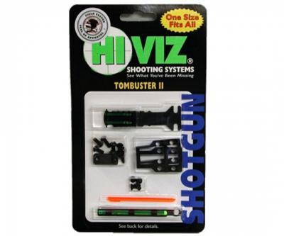 Оптоволоконная мушка HiViz TB2004 Tombuster II Combo Sight с целиком универсальная