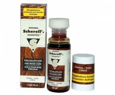 Средство для обработки дерева Klever-Ballistol Scherell Schaftol, 50 мл (тёмное)
