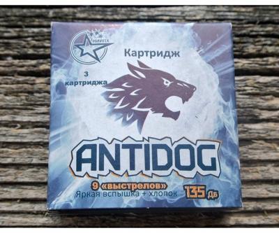 Картридж пиротехнический сменный к устройству AntiDOG (3 шт.)