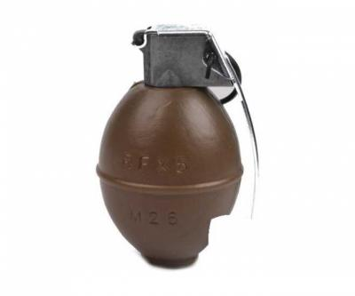 Муляж гранаты M26, с возможностью хранения шаров, G&G (G-07-064)