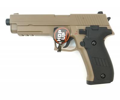 Страйкбольный пистолет Cyma SigSauer P226 AEP Tan (CM.122TN)