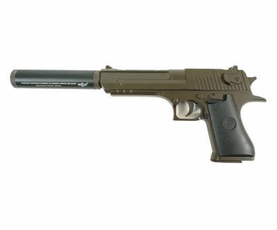 Страйкбольный пистолет Smart K111DS (Desert Eagle, с глушителем) G.17.2