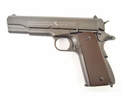 Страйкбольный пистолет KWC Colt M1911 A1 CO2 GBB (KCB-76AHN, 180512)