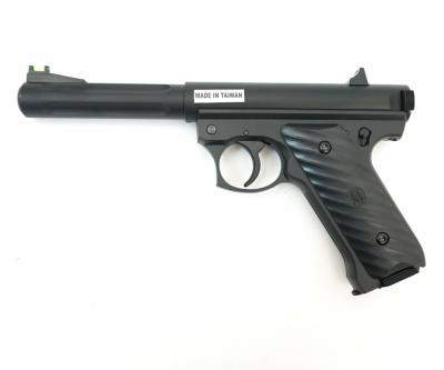 Страйкбольный пистолет KJW Ruger MK2 Black CO2 GNB