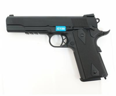Страйкбольный пистолет WE Colt M1911A1 Black (WE-E001B)