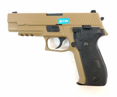 Страйкбольный пистолет WE SigSauer P226 Mk.25 Tan (WE-F003-TAN)