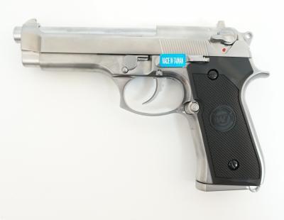 Страйкбольный пистолет WE Beretta M92 GBB Chrome (WE-M002)