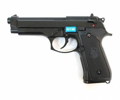Страйкбольный пистолет WE Beretta M92F Auto GBB (WE-M011BOX-B)