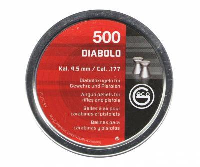 Пули RWS Geco Diabolo 4,5 мм, 0,45 грамм, 500 штук