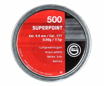Пули RWS Geco SuperPoint 4,5 мм, 0,50 грамм, 500 штук