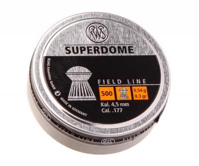 Пули RWS Superdome 4,5 мм, 0,54 грамм, 500 штук