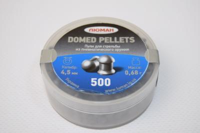 Пули Люман Domed Pellets 4,5 мм, 0,68 грамм, 500 штук