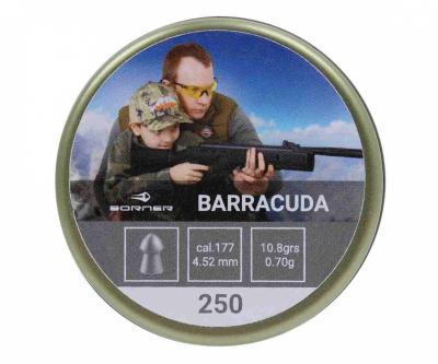 Пули Borner Barracuda 4,5 мм, 0,70 грамм, 250 штук